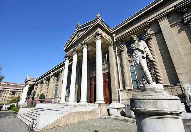 موزه باستان شناسی استامبول