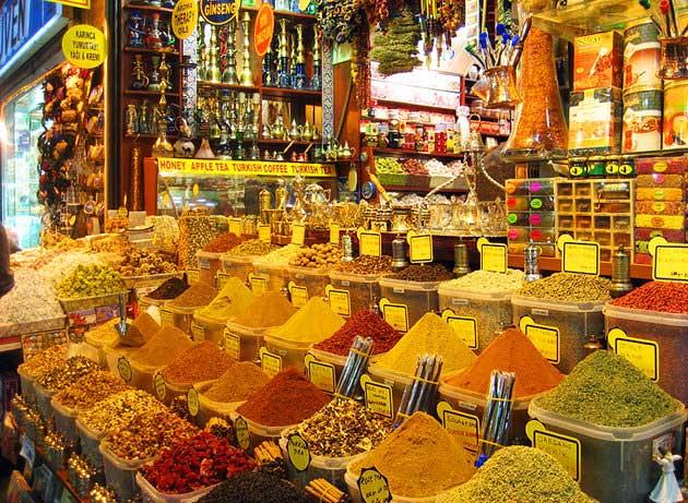 بازدید ادویه استامبول