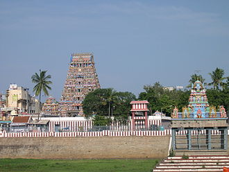 معبد Kapaleeshwarar در چنا