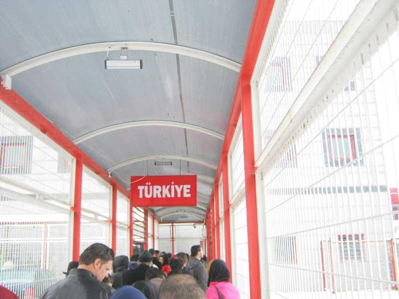 خروج از مرز بازرگان و ورود به کشور ترکیه