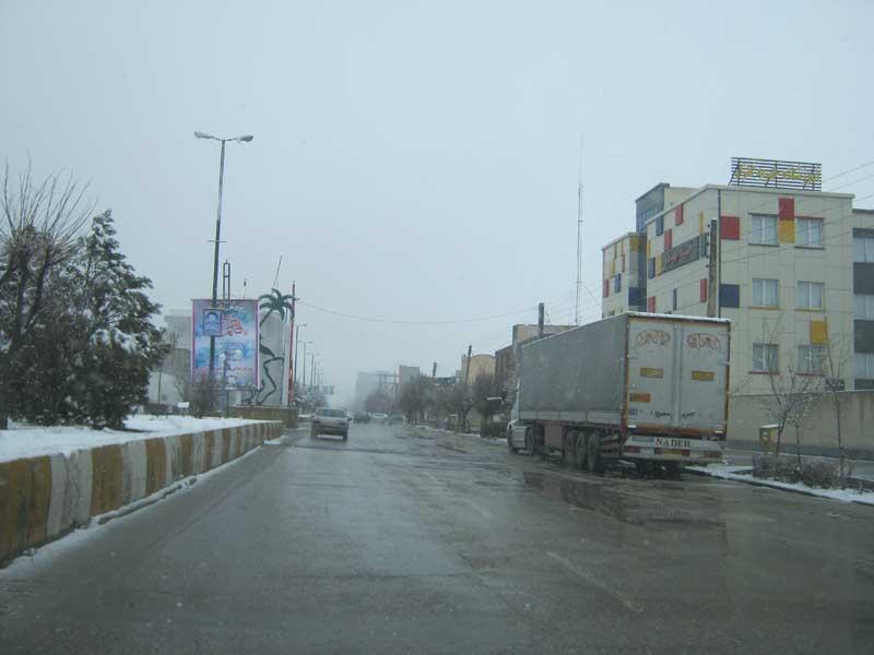 ورودی شهر بازرگان