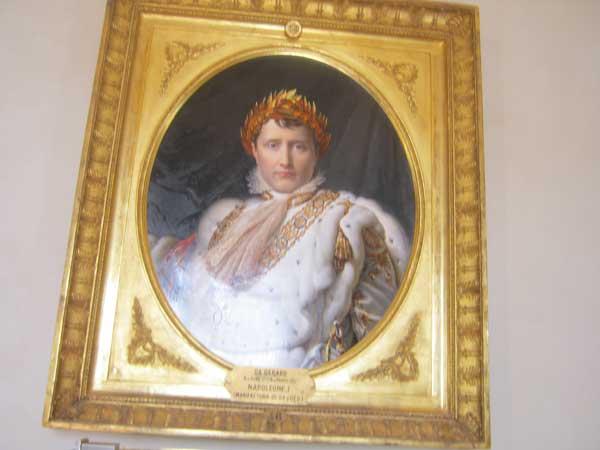 تابلوی ارزشمند ناپلئون در یکی از موزه های باغ بوبولی فلورانس