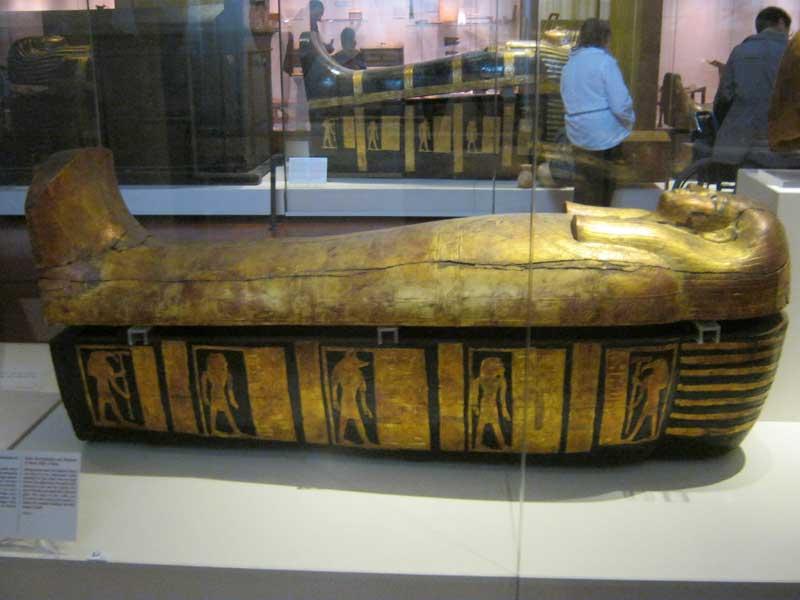 آثار موجو در موزه مصر باستان در تورین ایتالیا