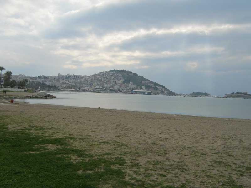 دریای اژه و ساحل ماسه کوش آداسی