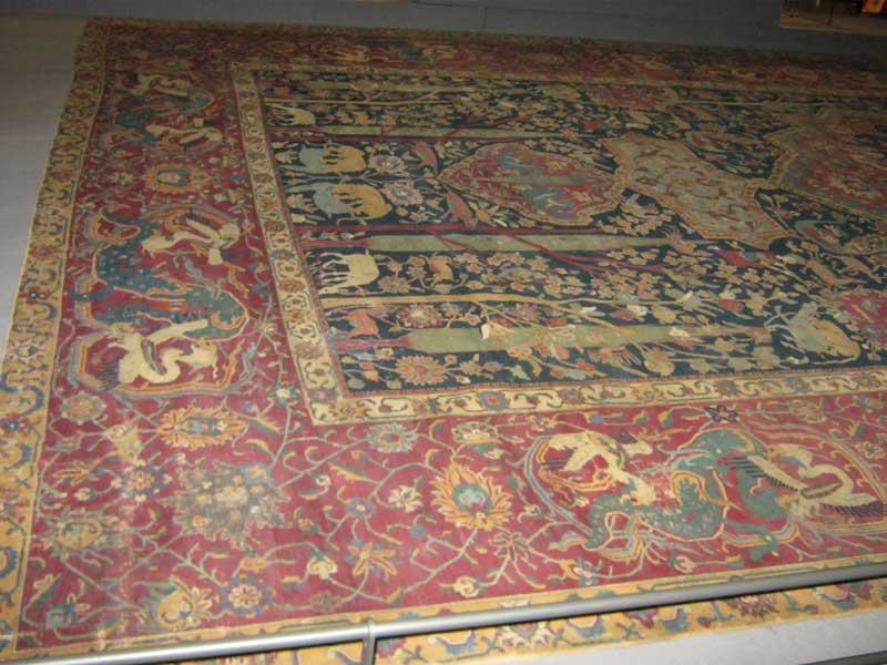 فرش ایرانی در موزه لوور
