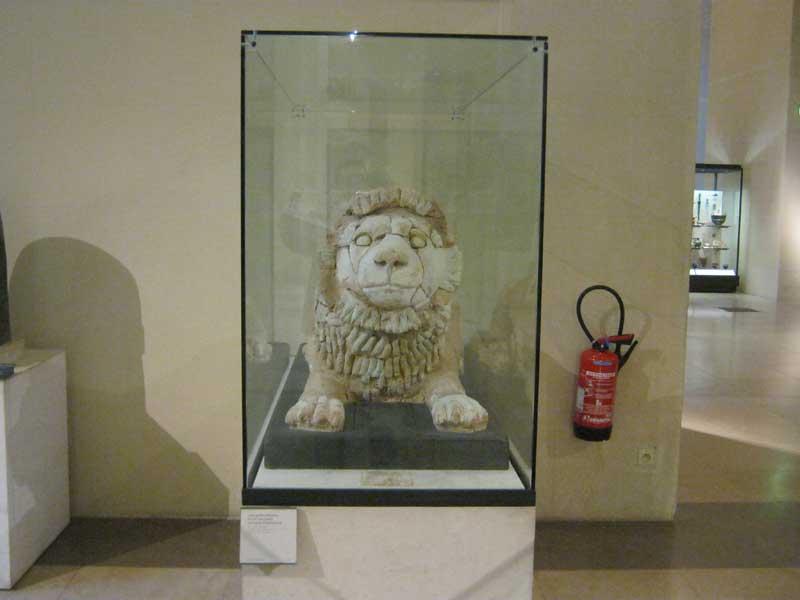 مجسمه ای بسیار قدیمی از ایران باستان در موزه لوور