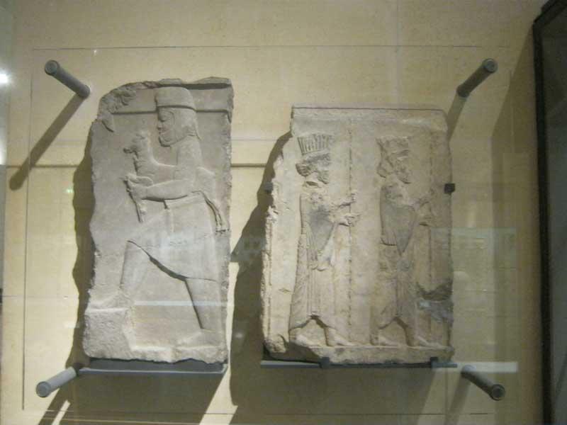 بقایایی از تخت جمشید در موزه لوور