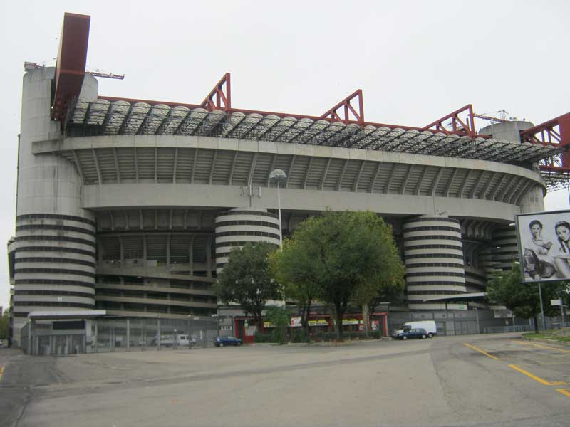 ورودی باشگاه سن سیرو میلان