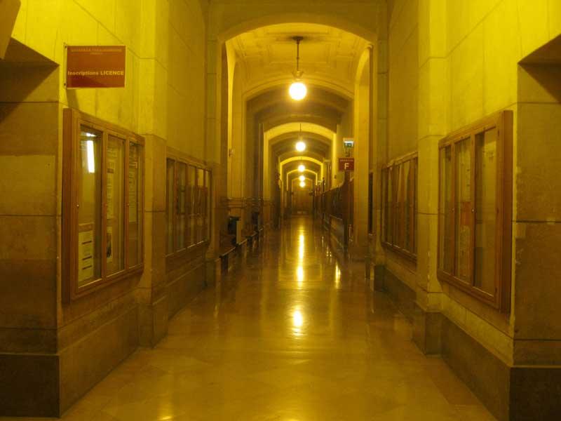 راه روی دانشگاه سوربن