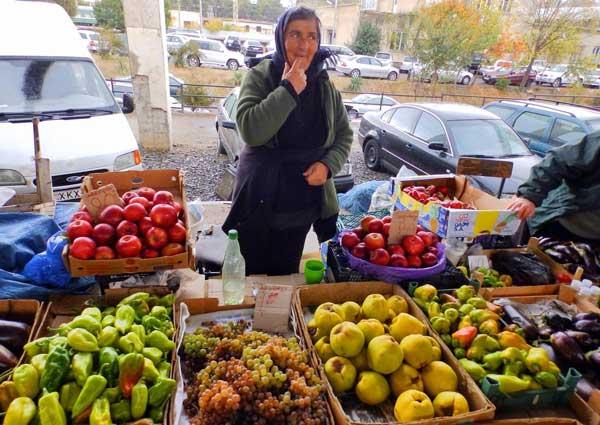 بازار محلی تفلیس