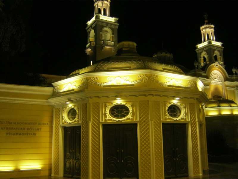بنایی زیبا در منطقه Iceri Shahr