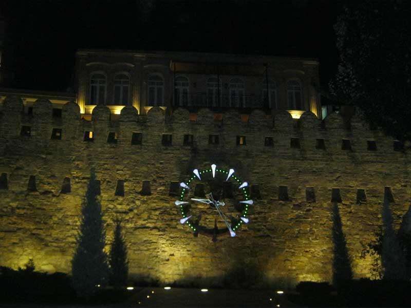 دیواره های شهر قدیمی باکو
