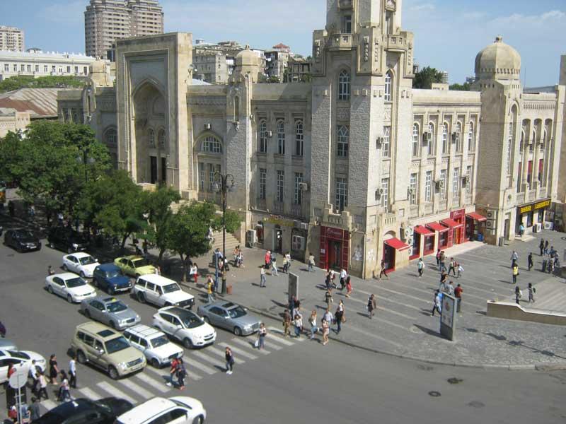 تصاویری از شهر باکو