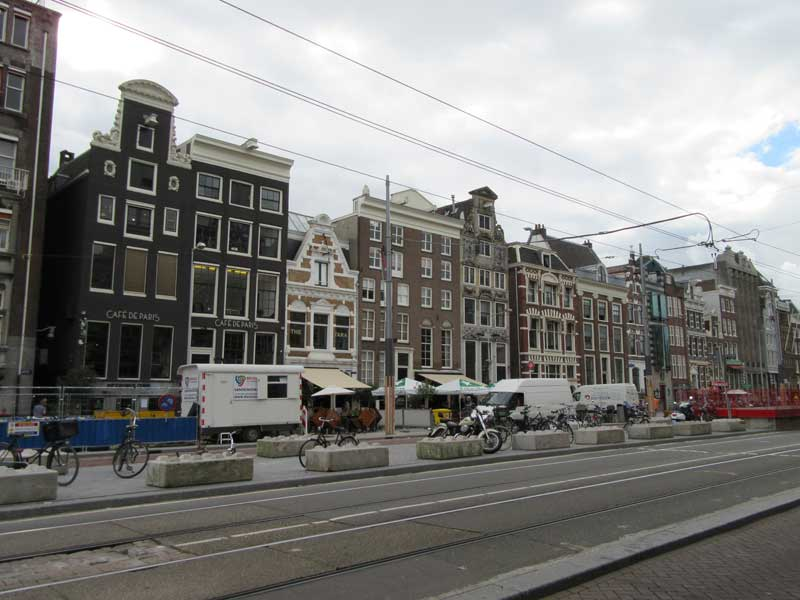 نمایی از خیابان روکین آمستردام