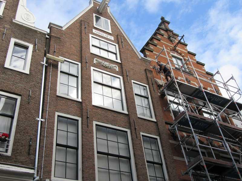 نمای خانه های آمستردام