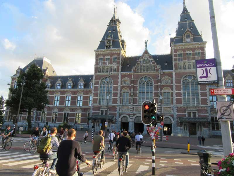 ورودی موزه ریجکس آمستردام