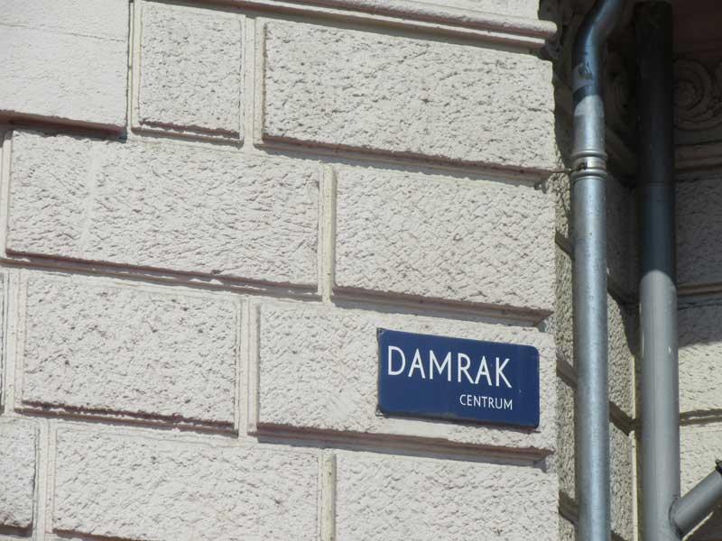 خیابان دمراک آمستردام