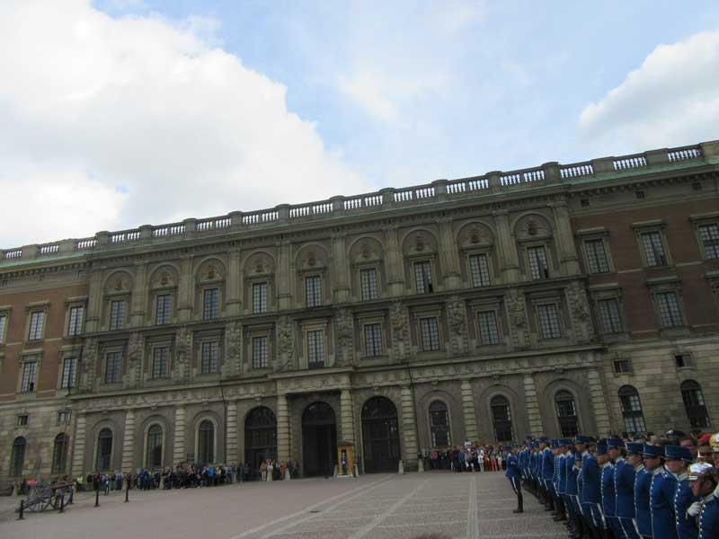 محوطه کاخ سلطنتی سوئد