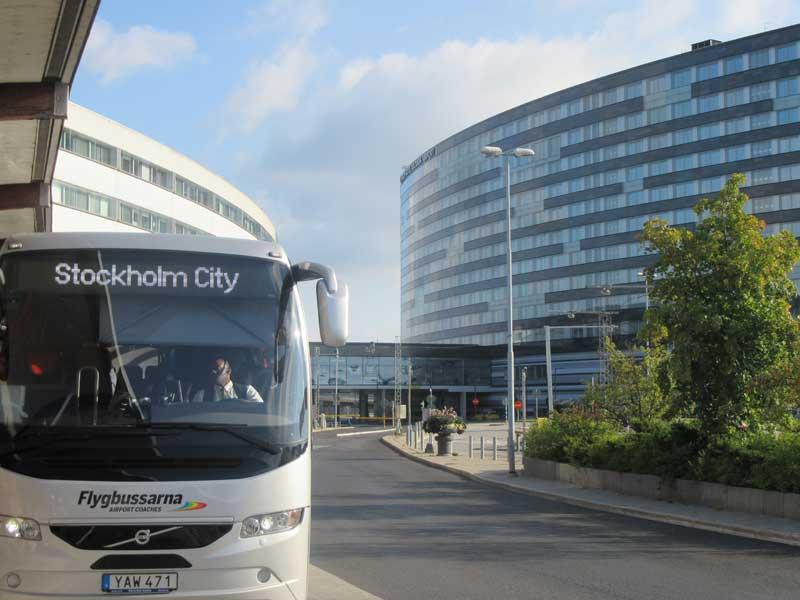 اتوبوس های اکسپرس بین فروداه آرلاندا و مرکز شهر استکهلم