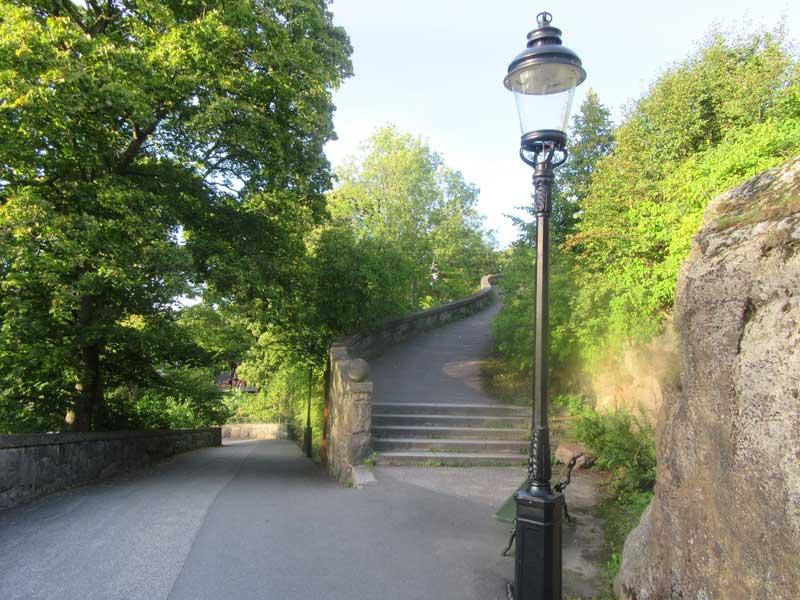 مسیرهای پیاده روی در اسکانسن