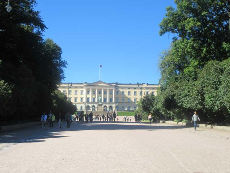 کاخ سلطنتی نروژ