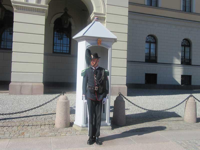 گارد حفاظت از کاخ سلطنتی نروژ