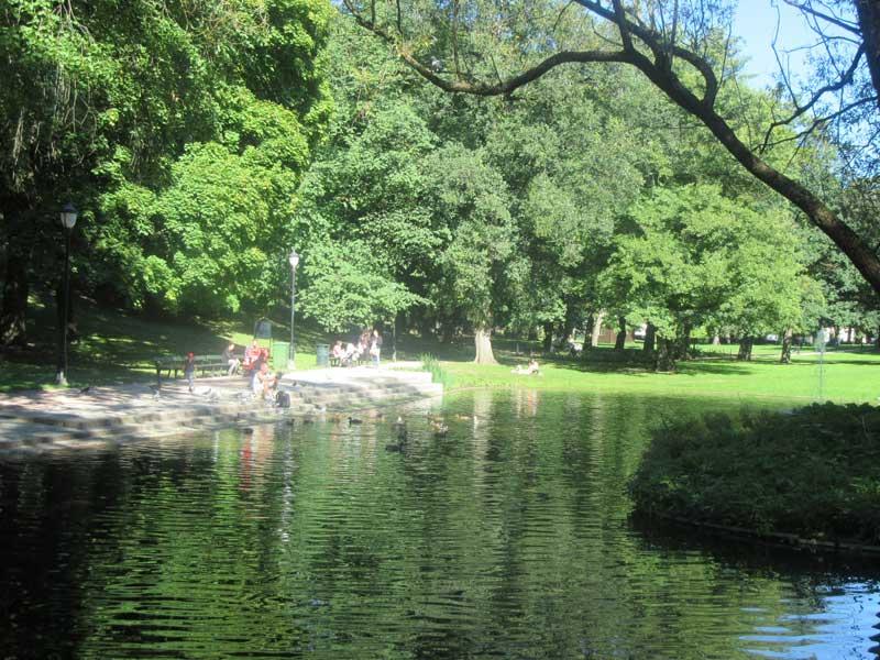 تصاویری دیگر از پارک زیبای سلطنتی اسلو