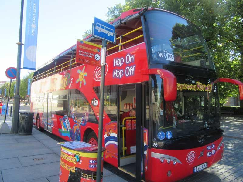 اتوبوس های Hop on  - Hop off اسلو