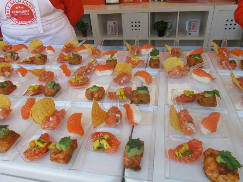 غرفه هایی از نمایشگاه غذایی اسلو