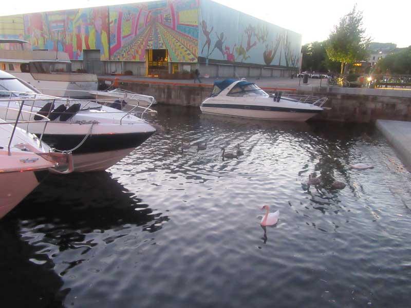 اسکله قایق های تفریحی اسلو