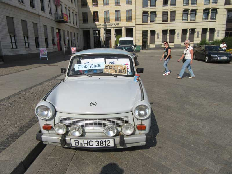 خودرو ترابی، نماد آلمان شرقی