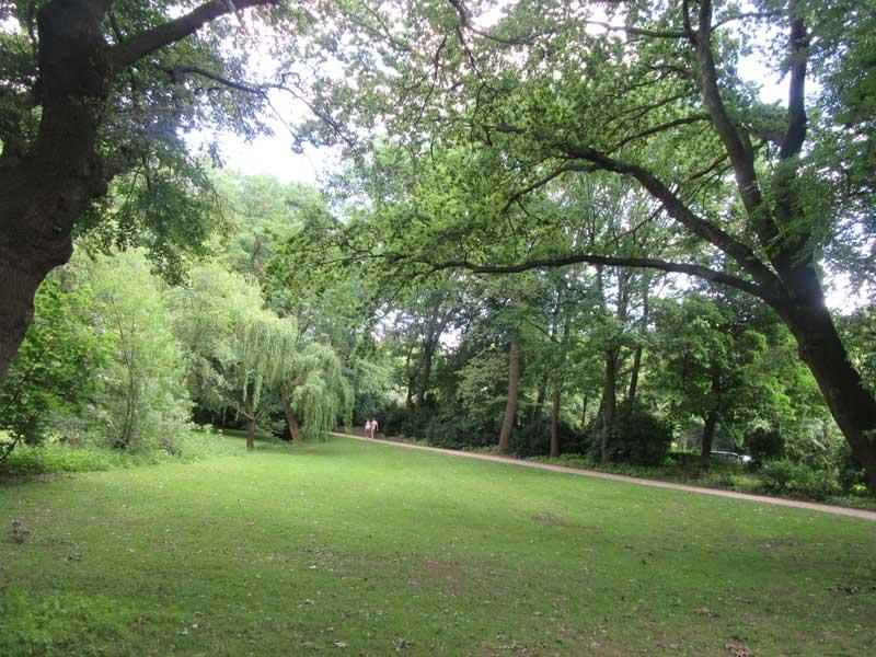 منطقه Tiergarten برلین